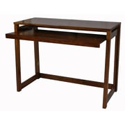 Casual Home Modern Folding Desk with 4 USB Ports