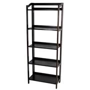 Casual Home Stratford 60.25'' Folding Bookcase; Espresso