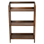 Casual Home Stratford 36'' Folding Bookcase; Warm Brown