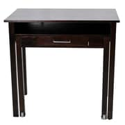 Casual Home Roll Out Writing Desk; Espresso