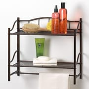 Creative Bath Complete Bath Wall Cabinet with Towel Bar; Oil Rubbed