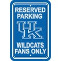 JTD Enterprises NCAA Parking Sign; Kentucky Wildcats