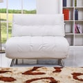 Gold Sparrow Tampa Convertible Big Chair; White