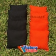 Victory Tailgate Weather Resistant Cornhole Bags (Set of 4); Orange and Black