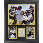 Legends Never Die NFL Pittsburgh Steelers - Roethlisberger Collage Framed Memorabili