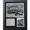 Legends Never Die Chicago Cubs - Wrigley Field 1935 Framed Photo Collage