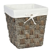Creative Bath Java Waste Basket; Grey