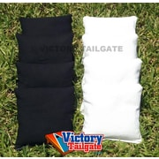 Victory Tailgate Standard Bags; Black and White