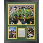 Legends Never Die NFL Bay Packers - Packer Greats Framed Memorabili