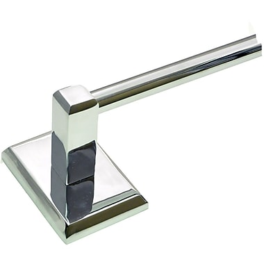 Rusticware Utica 18'' Wall Mounted Towel Bar; Chrome