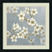 Amanti Art 'Silver BlossomsI' by Elise Remender Framed Painting Print