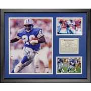 Legends Never Die NFL Detroit Lions - Barry Sanders Framed Memorabili