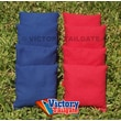 Victory Tailgate Weather Resistant Cornhole Bags (Set of 4); Red and Royal Blue