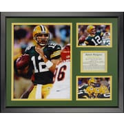 Legends Never Die NFL Bay Packers - Rodgers Home Framed Memorabili