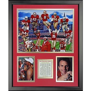 Legends Never Die NFL San Francisco 49ers - 49er Greats Framed Memorabili