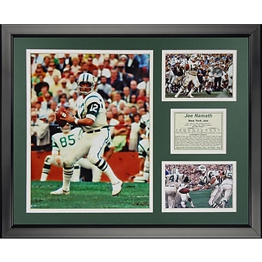 Legends Never Die NFL New York Jets - Joe Namath Framed Memorabili