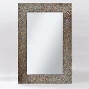Ren-Wil Amber Mosaic Wall Mirror