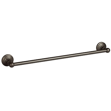Design House Calisto 24'' Wall Mounted Towel Bar; Oil Rubbed Bronze