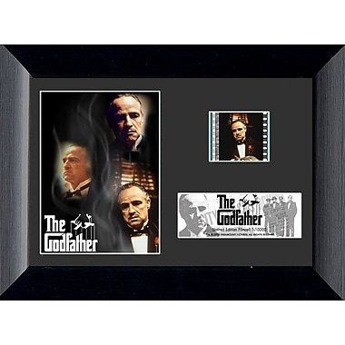 Trend Setters The Godfather Mini FilmCell Presentation Framed Vintage Advertisement
