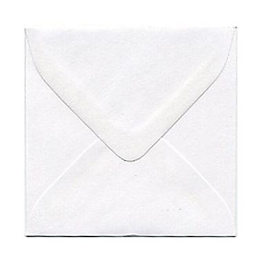 JAM Paper® 3.125 x 3.125 Mini Square Envelopes, White, 100/Pack (201229A)