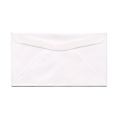 JAM Paper® #6 3/4 Commercial Envelopes, 3 5/8 x 6 1/2, White, 25/pack (1633983)