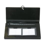 "JAM Paper® Black 13 Pocket Expanding File 5"" x 10.5"", Sold Individually"