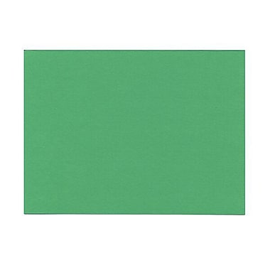 JAM Paper® Blank Note Cards, Green, 5 x 6 1/2, 500/box (01751017B)