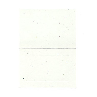 JAM Paper® Blank Foldover Cards, 4bar / A1 size, 3.5 x 4.88, Fiesta Panel, 100/Pack (309896)