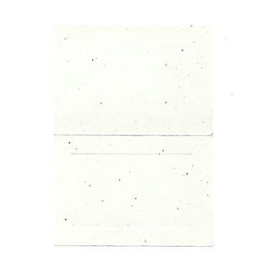 JAM PaperMD – Cartes rabattables Fiesta avec bordure, 3,5 x 4,87 po, 100/paquet