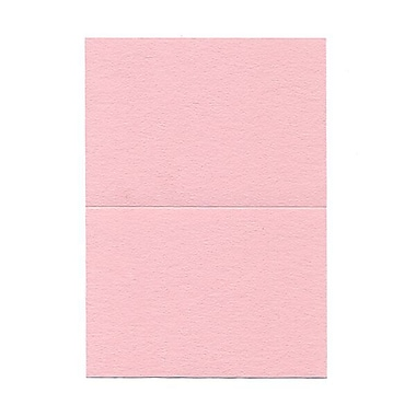 JAM Paper® Blank Foldover Cards, 4bar / A1 size, 3.5 x 4.88, Pink, 500/Pack (309881B)