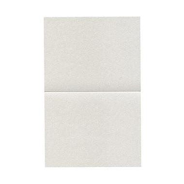 JAM PaperMD – Cartes rabattables, quartz métallique Stardream, 4,25 x 5,5 po, 50/paquet