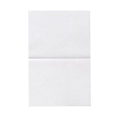 JAM PaperMD – Cartes vierges rabattables, translucide, 4,37 x 5,43 po, 100/paquet