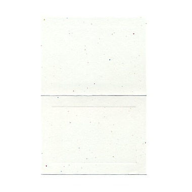 JAM Paper® Blank Foldover Cards, A6 size, 4 5/8 x 6 1/4, Fiesta Panel, 100/pack (309924)
