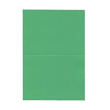 JAM Paper® Blank Foldover Cards, 4 x 5 7/16, Green, 100/pack (309934)