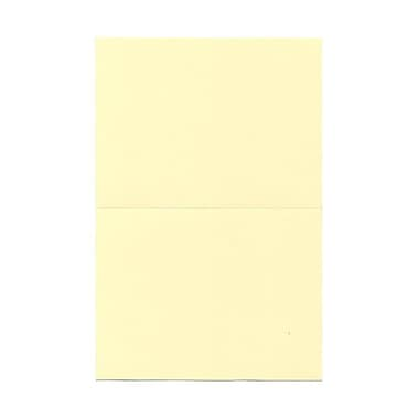 JAM PaperMD – Cartes rabattables, 5 x 6,62 po, 100/paquet