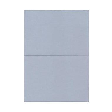 JAM Paper® Blank Foldover Cards, A7 size, 5 x 7, Curious Metallic Plasma Blue, 50/pack (69313363)
