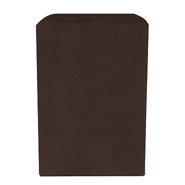 JAM Paper® Merchandise Bags, Small, 6.25 x 9.25, Black, 1000/carton (342126858)