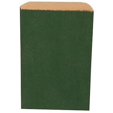 JAM Paper® Merchandise Bags, Small, 6.25 x 9.25, Green, 1000/carton (342126792)