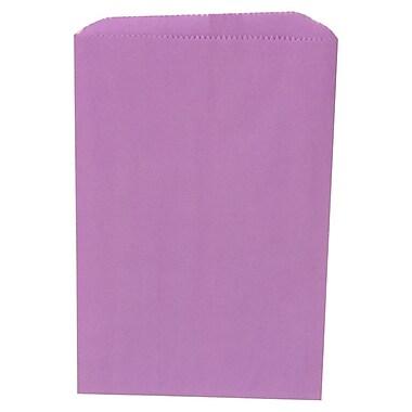 JAM Paper® Merchandise Bags, Small, 6.25 x 9.25, Violet Purple, 1000/carton (342126862)