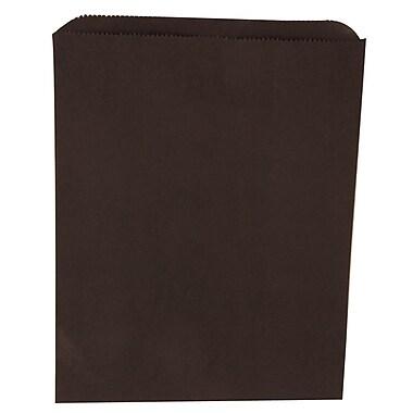 JAM Paper® Merchandise Bags, Medium, 8.5 x 11, Black, 1000/carton (342126860)