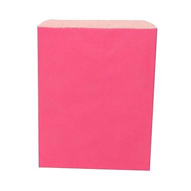 JAM Paper® Merchandise Bags, Medium, 8.5 x 11, Fuchsia Pink, 1000/carton (342126828)