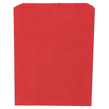 JAM Paper® Merchandise Bags, Medium, 8.5 x 11, Red, 1000/carton (342126832)