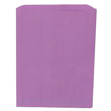 JAM Paper® Merchandise Bags, Medium, 8.5 x 11, Violet Purple, 1000/carton (342126866)