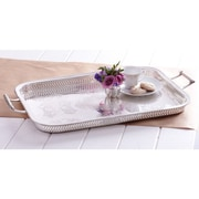 Twos Company Butler's Pantry Rothschild Decorative Gallery Tray