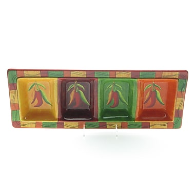 Certified International Caliente by Joy Hall Serving Tray