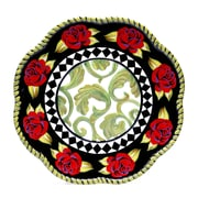 Certified International Classic Rose Charger Plate