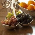 DanyaB Gaudi Inspired Organic Swirls Tri Serving Bowl