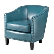 Madison Park Fremont Arm Chair; Blue