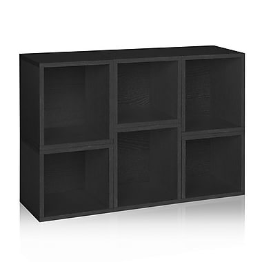 Way Basics® Eco Stackable 6 Shelf Arlington Modular Organizers