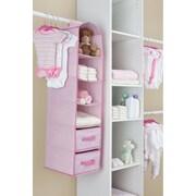 Delta Children Children 6-Shelf Storage; Pink